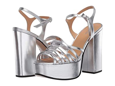 Marc Jacobs The Glam Sandal 80 mm (Silver) Women
