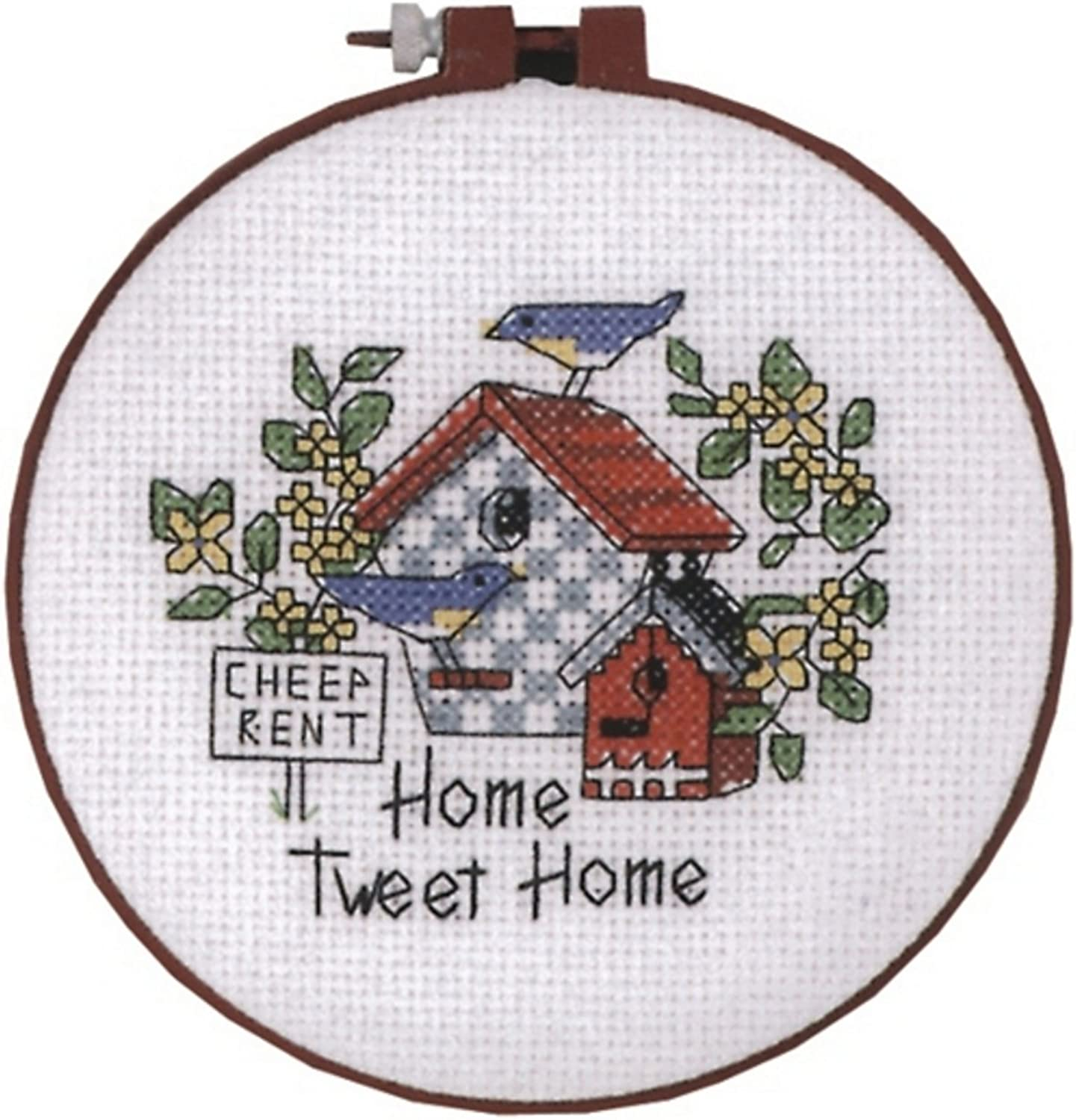 Dimensions LearnACraft Cheep Rent Cntd XStitch Kit