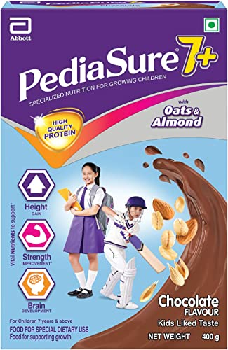 Pediasure 7 Specialized Nutrition Drink Powder for Growing Children Chocolate Flavour 400 gm