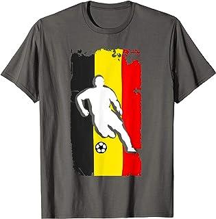 Belgium Soccer Jersey - Belgian Flag | Football Futbol