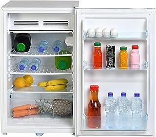 Super General 140 Liter Gross Volume Compact Mini-Refrigerator SG R060H, White, Beverage-Fridge with Child Lock, Shelf, Fr...