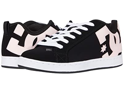 DC Court Graffik W (Black/Super Pink) Women