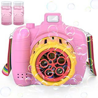 Jasonwell Bubble Machine for Kids - Automatic Bubble Blower for Toddlers Bubble Maker for Outdoor Indoor Parties Birthday ...