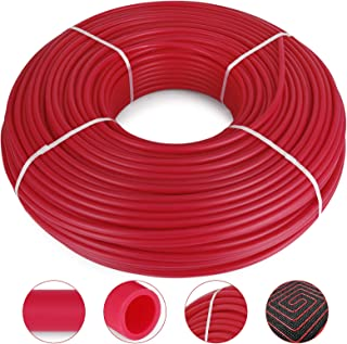 Happybuy Oxygen Barrier PEX Tubing - 1/2 Inch X 900 Feet Tube Coil - EVOH PEX-B Pipe for Residential Commercial Radiant Floor Heating Pex Pipe (1/2