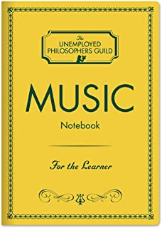 Music Composer Passport Sized Mini Notebook with Sheet Music Pages