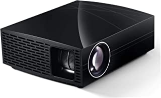 "720p Native Video Projector, 3800 Lumens LED Projector Support 1080p 4K 200"" Image, Compatible with PC Games Consoles TV S..."