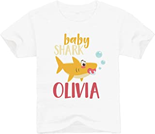 Customized Shark Family | Baby Personalized Name | Toddler T-Shirt