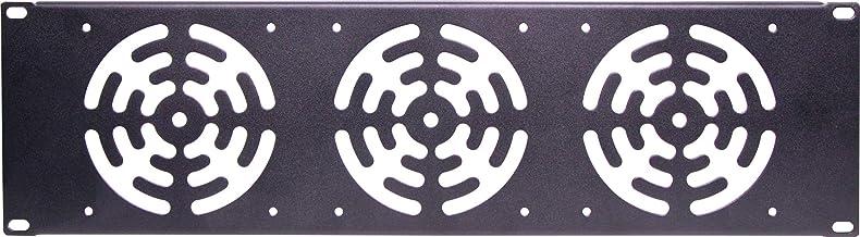 """Generic 3U 3x120mm Fan 19"""" Rack Panel"""