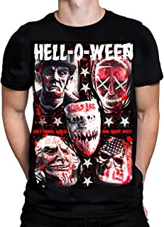 KND - Hell-O-WEEN - Men's T-Shirt - Black