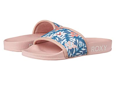 Roxy Kids Slippy II (Little Kid/Big Kid) (Pink Carnation) Girls Shoes