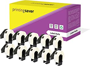 10 Compatibles Rollos DK11203 DK-11203 17mm x 87mm Etiquetas para Brother P-Touch QL-500 QL-550 QL-570 QL-700 QL-800 QL-810W QL-820NWB QL-1050 QL-1060N QL-1100 QL-1110NWB (300 Etiquetas por Rollo)
