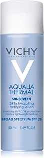 Vichy Aqualia Thermal 24-Hour Moisturizer with SPF 25, 1.69 Fl Oz