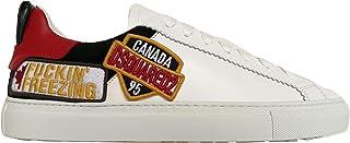 Dsquared Scarpe Uomo Low Top Sneakers San Diego SNM0144 01501676 M072 Bianco