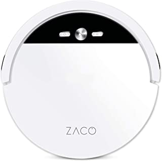 ZACO V4 Robot odkurzający z bezszczotkowym odsysaniem bezpośrednim, idealny do sierści zwierząt i twardych podłóg, bez wor...