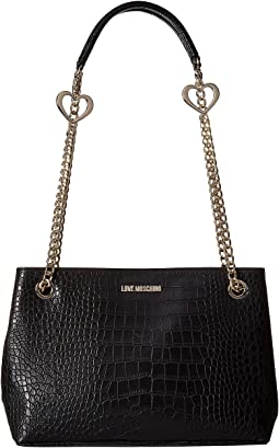 LOVE Moschino Crossbody Pu Tote