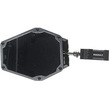 Assault Industries 101005SM03022 Black//Blue 1.75 Bomber Series UTV Side Mirror