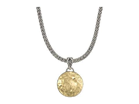 John hardy dot hammered reversible pendant necklace at luxuryppos john hardy dot hammered reversible pendant necklace aloadofball Image collections