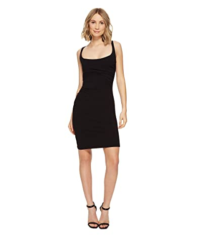 Susana Monaco Gather Tank Dress (Black) Women