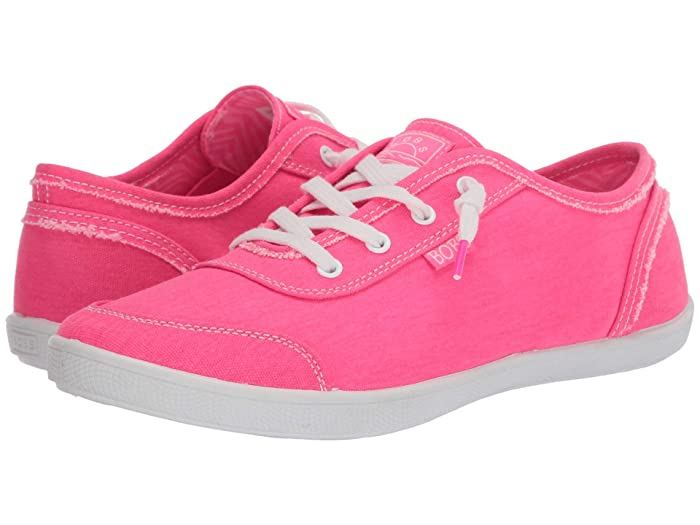 Vintage Sneakers for Men and Women BOBS from SKECHERS Bobs B Cute Neon Pink Womens  Shoes $40.99 AT vintagedancer.com