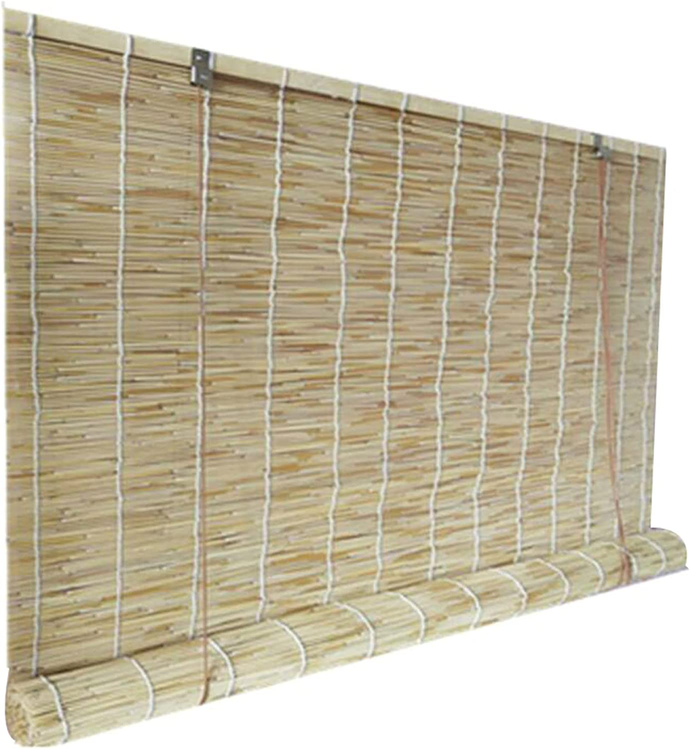 Natural Reed Curtain Partition Privacy Daily Latest item bargain sale Straw Blind Old