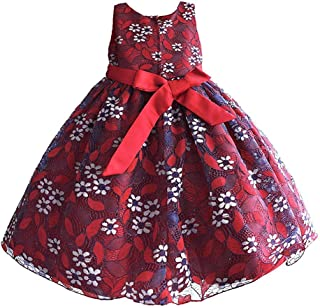 子供ドレス フォーマル キッズドレス レース 女の子ワンピース プリンセス 刺繍 入園式 発表会 パーティー 結婚式 ドレス 七五三