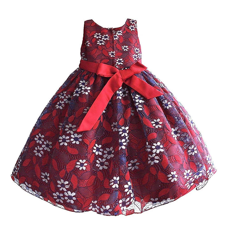 子供ドレス 結婚式 ドレス キッズドレス クリスマス レース 女の子ワンピース プリンセス 刺繍 入園式 発表会 パーティー