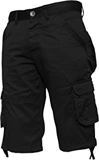 Enzo Mens Cargo Combat Shorts Summer Chino Casual Army Work Knee Length Pants