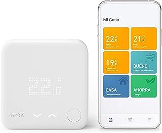 comprar comparacion tado° Termostato Inteligente Cableado Kit de Inicio V3+ - Control inteligente de calefacción, Instálalo tú mismo, Designed...