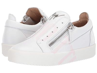 Giuseppe Zanotti Frankie Tag Low Top Sneaker (Finish Bianco) Women