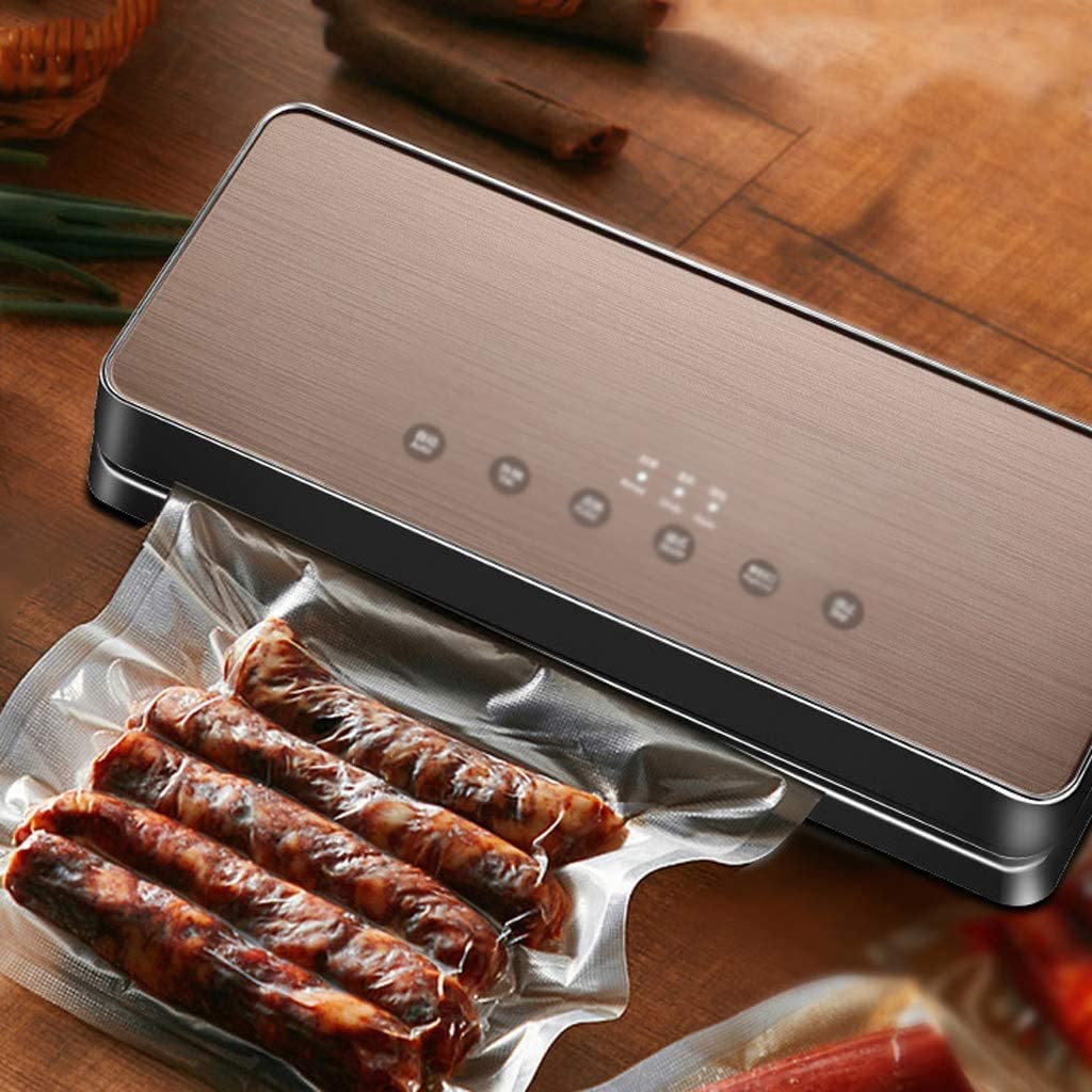 Vacuum Sealer Machine Automatic Hand Food Machinery And Food Protection Food Preservation Dry For Family Camping Food Storage Machine Pink