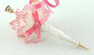 Rosa De Ballet Zapatillas de casa de muñecas en miniatura 1:12 Dormitorio Accesorio tienda zapatos