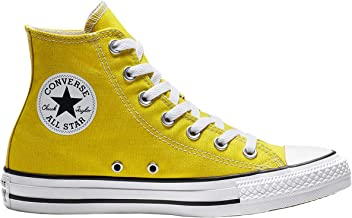 converse gialle donna basse