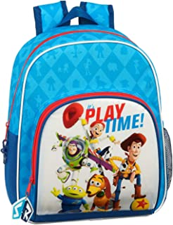 612031609 Mochila pequeña niña Adaptable Carro Toy Story, Azul