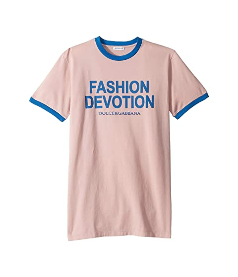 Dolce & Gabbana Kids Fashion Devotion T-Shirt (Big Kids)