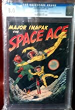 Major Inapak the Space Ace # 1 CGC Graded 8.0 VF