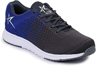REFOAM Men's Mesh Lace Up Running Sports Shoes