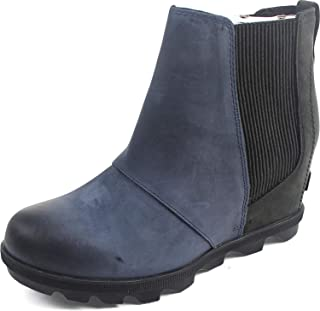 Women's Joan of Arctic Wedge Ii Chelsea Non Shell Boot, Size: 6.5 B(M) US, Color: Collegiate Navy