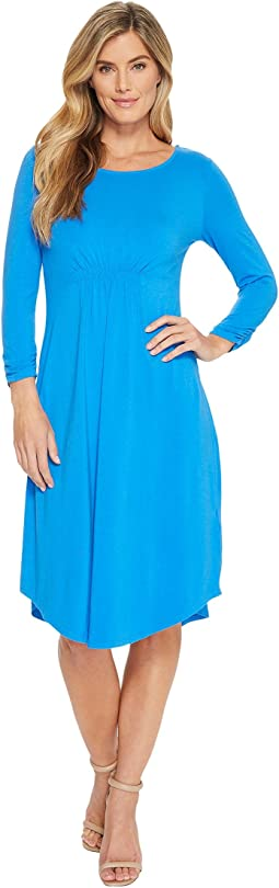 Mod-o-doc - Cotton Modal Spandex Jersey Cinch Waist Dress