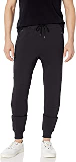 Men's Fleece Jogger Pants Active Zipper Pocket Sweatpants