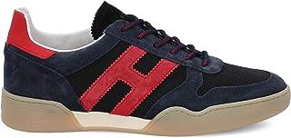 Luxury Fashion | Hogan Men HXM3570AC40N3I50BV Blue Suede Sneakers | Spring-summer 20