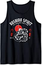 Bushido spirit. Samurai fights dragon vintage martial arts Tank Top