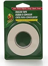 Duck Brand 280124 Write-On Freezer Tape, 3/4-Inch by 30-Yard, Single Roll, White