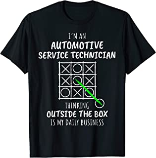 Funny Automotive Service Technician T-Shirt