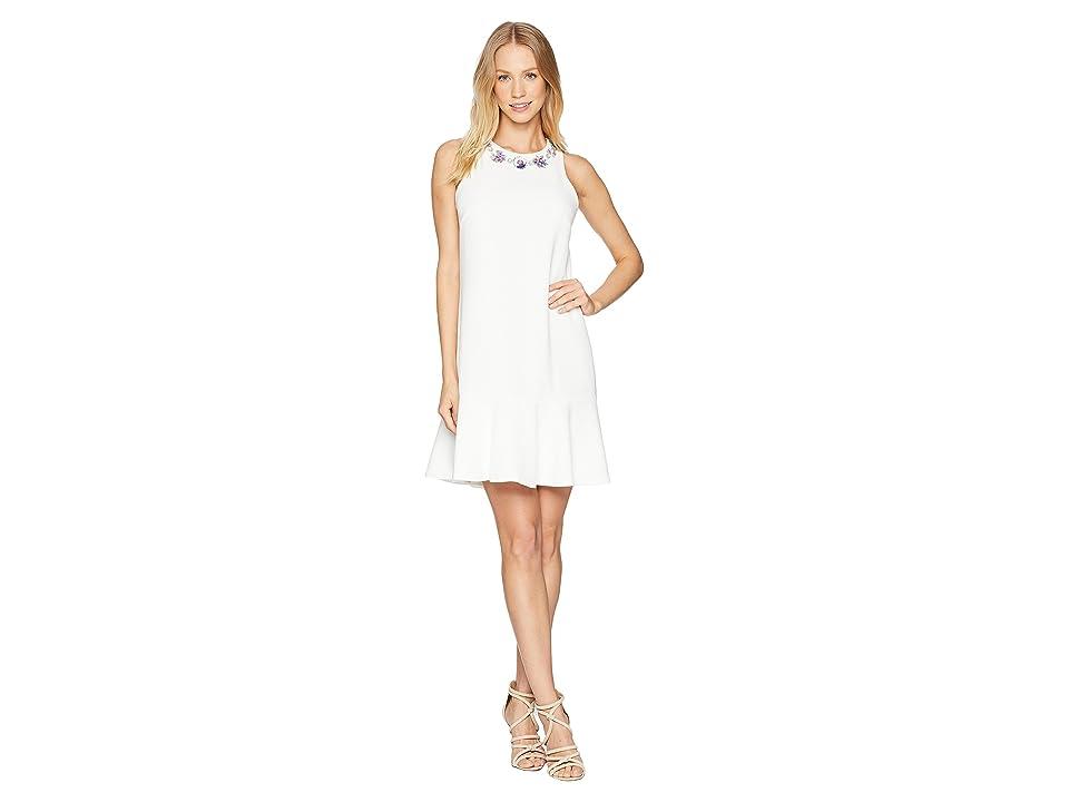 Trina Turk Fizz Dress (Whitewash) Women