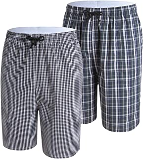 JINSHI Pantalons Flanelle Bas de Pyjama avec Poches Homme V/êtements de Nuit Tr/ès Chaud et Doux Hiver