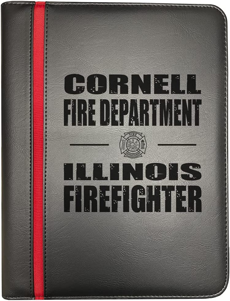 Sale item Cornell Award-winning store Illinois Fire Departments Red Thin Firefighter Line