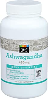 365 Everyday Value, Herb Ashwagandha, 180 Count