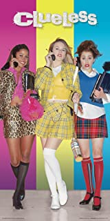 Culturenik Clueless Dionne Cher and Tai Standing Teen Comedy Movie Film Print (Unframed 12x24 Poster)