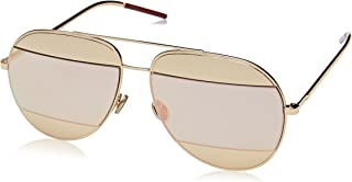 نظارات ديورسبليت1 0 جيه الشمسية للنساء من كريستيان ديور، اسود (وردي ذهبي)، مقاس 59