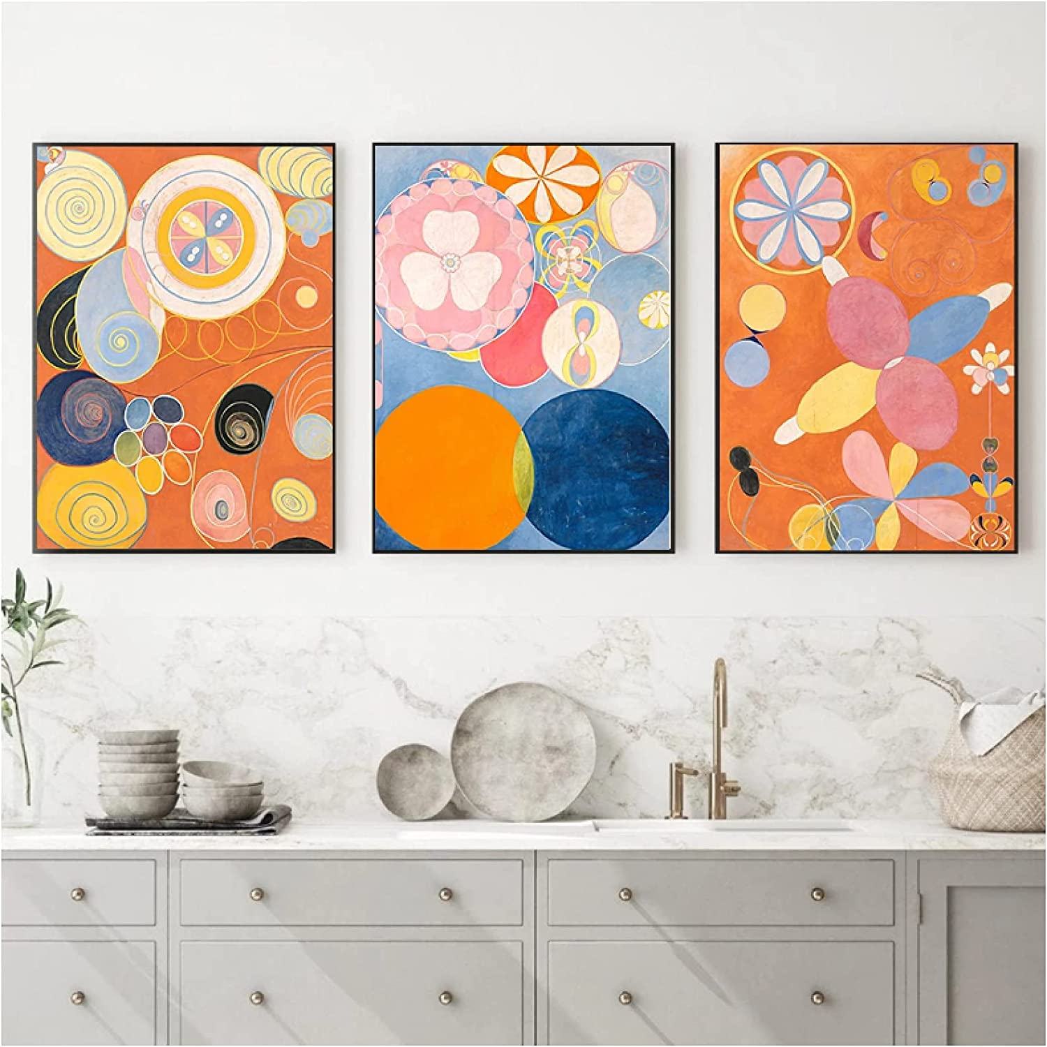 Xynfl Time sale Abstract Geometry Boho Nursery and Prints Posters Courier shipping free Cartoon